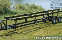 Centerlift Pontoon Trailer – Hoosier BX Tandem Axle- 20′ to 27′