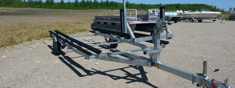 Single Axle Pontoon Trailer – 18/20