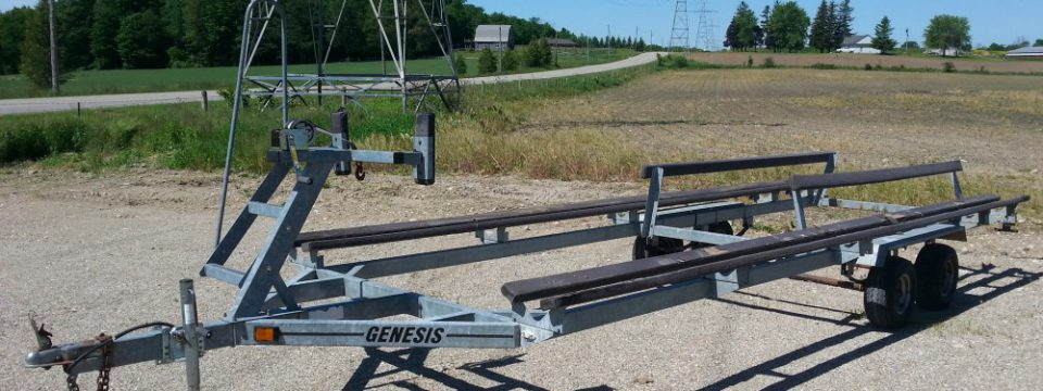 Tandem Axle Pontoon Trailer -20/22
