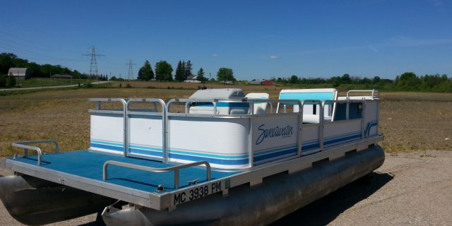 1993 20′ Sweetwater Pontoon (No Motor) $4200