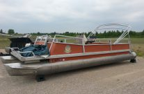 Older 24′ deck only (No Motor) $2900