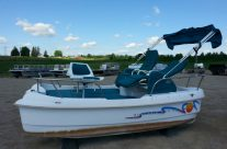 1998 12′ Electric Mini Pontoons- (2 in stock)