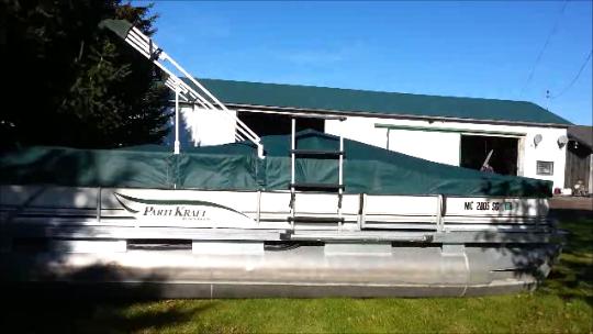 2002 20′ PartiKraft  (no motor)