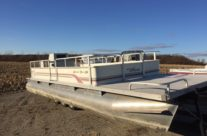 1992 24′ Weeres Pontoon (No Motor)