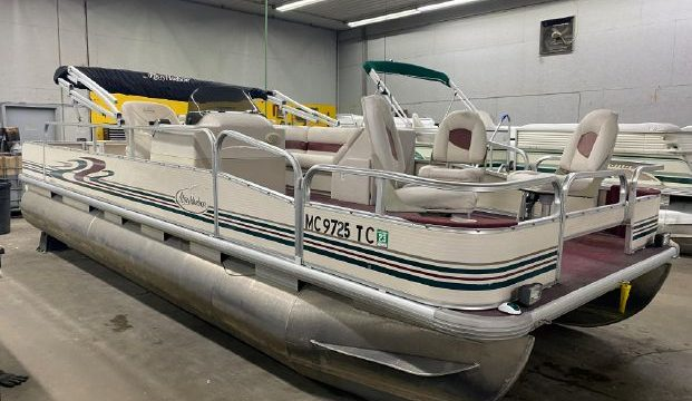 2008 22′ Misty Harbor 25hp Merc